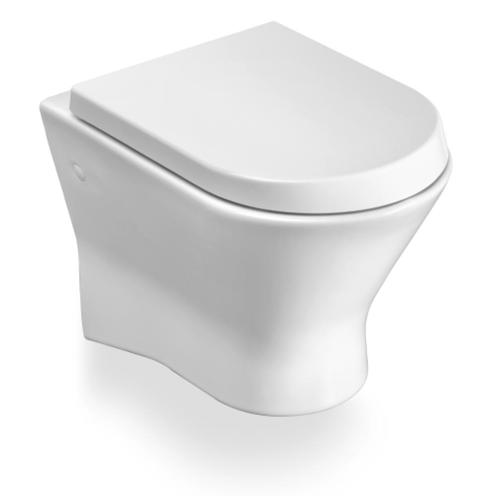 NEXO Стенна тоалетна със седалка и капак