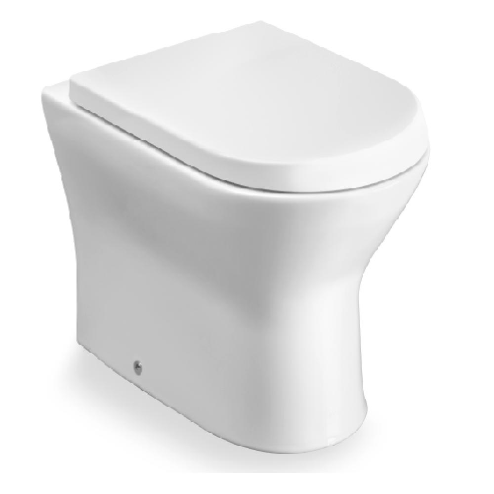 NEXO стояща тоалетна за високо казанче с капак плавно затваряне