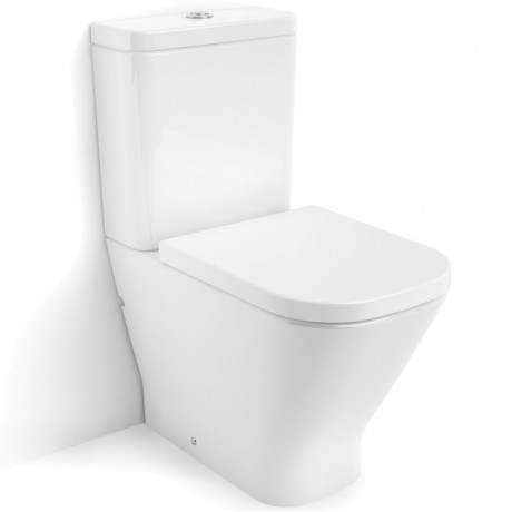 GAP Rimless моноблок без ръб със седалка и капак с плавно затваряне