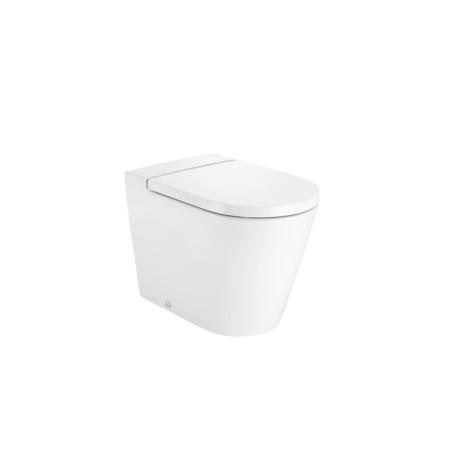 INSPIRA Round Стояща тоалетна чиния с двойно оттичане