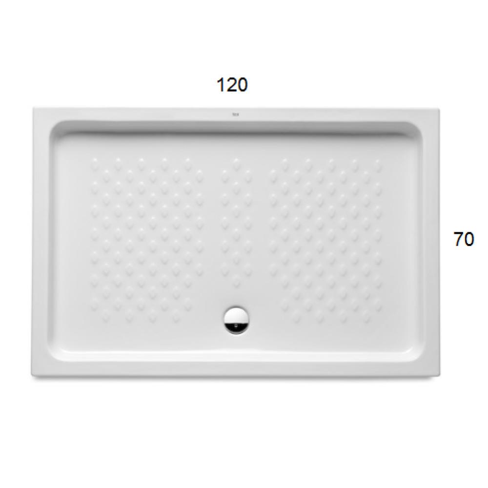 ITALIA Порцеланово душ корито 120 x 70 с правоъгълна форма
