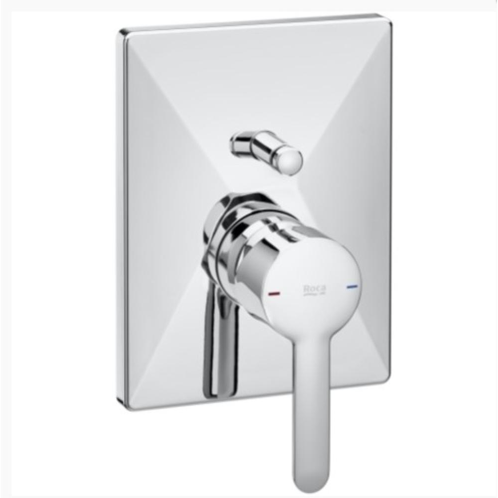 AROLA вграден смесител за вана/душ с квадратна основа