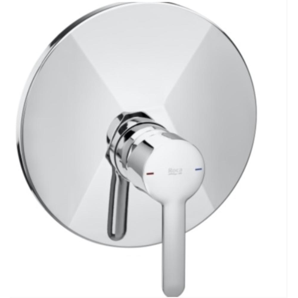 CARELIA вграден смесител за душ с кръгла форма
