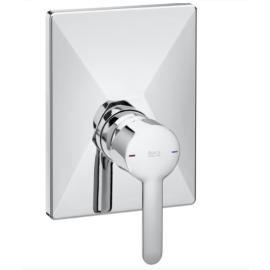 CARELIA вграден смесител за душ с квадратна форма