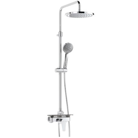 EVEN - M Round Колона за душ с външен смесител