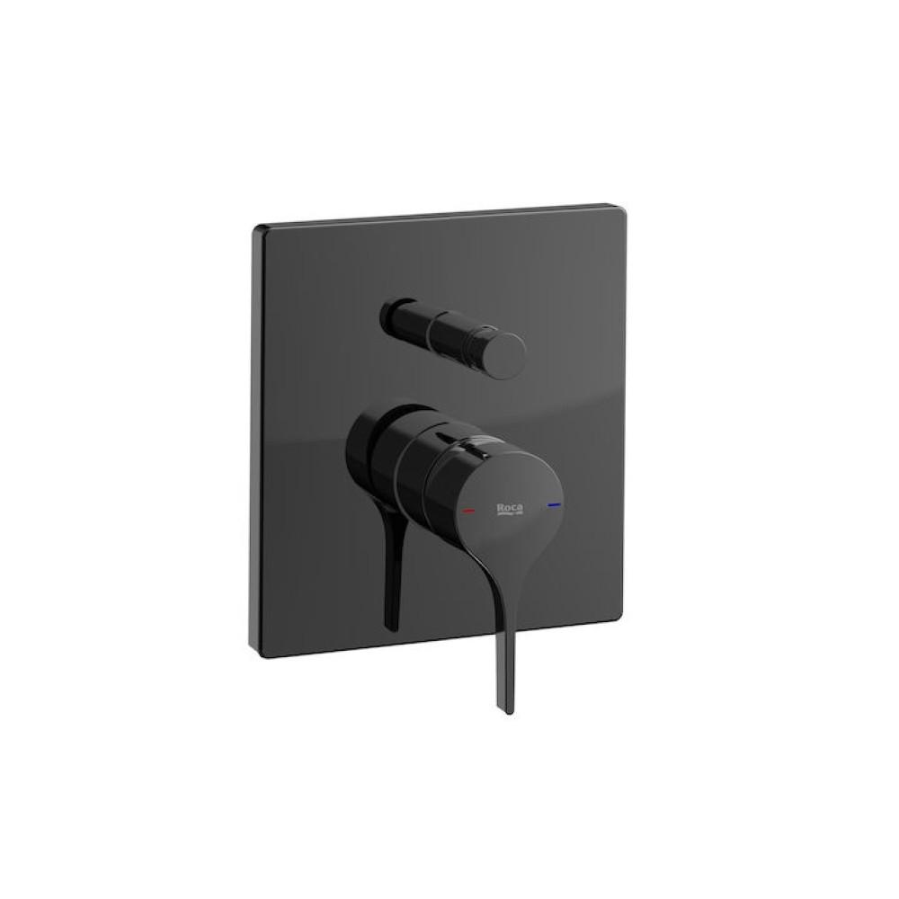 INSIGNIA вграден смесител за вана/душ, черен