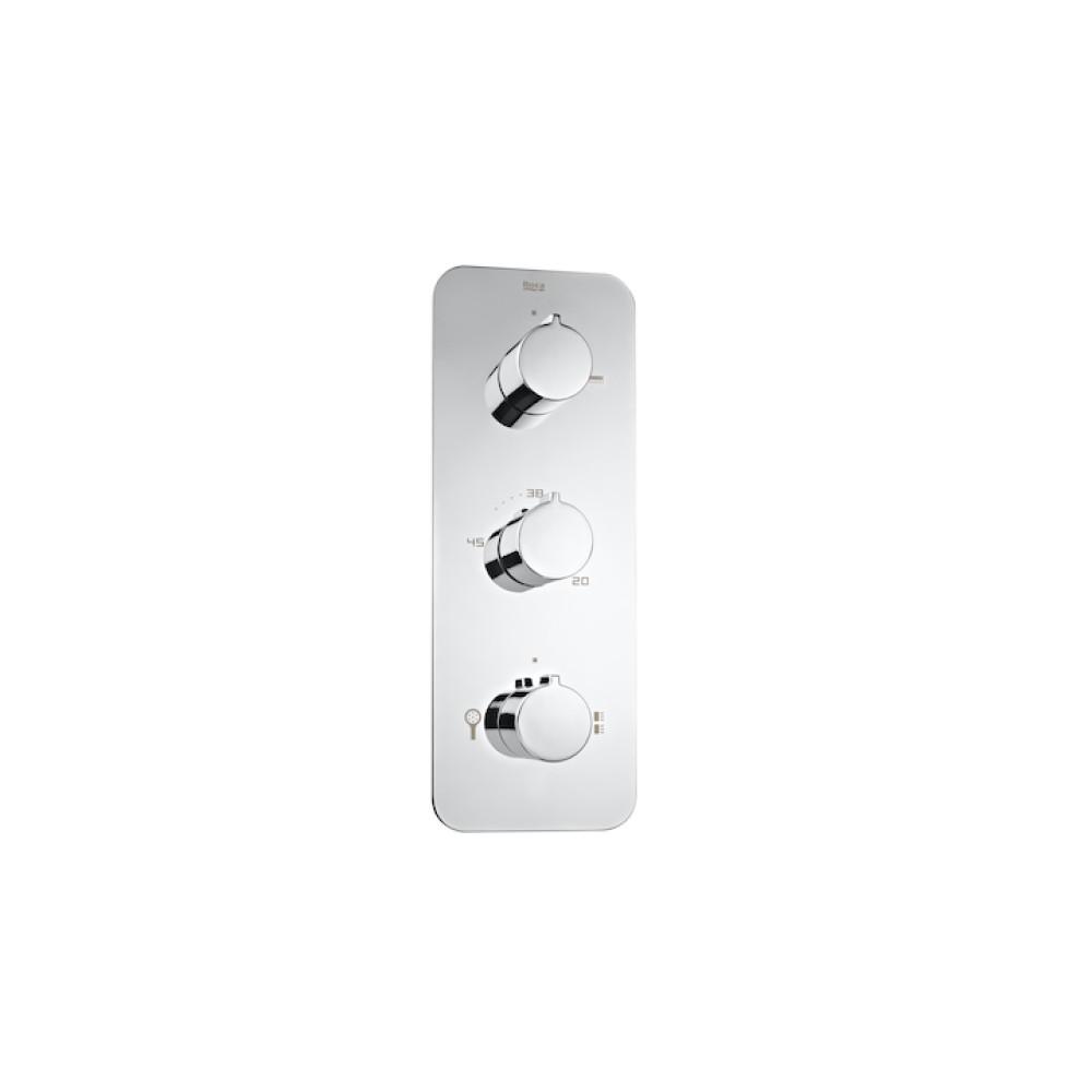 PUZZLE трипътен термостатичен смесител за вграждане