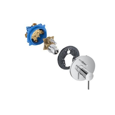"""Lanta вграден смесител 1/2"""" за вана-душ с автоматичен превключвател"""