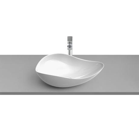 RUY OHTAKE White Glaze 540 x 375 x 185 mm Умивалник върху плот Бял Гланц