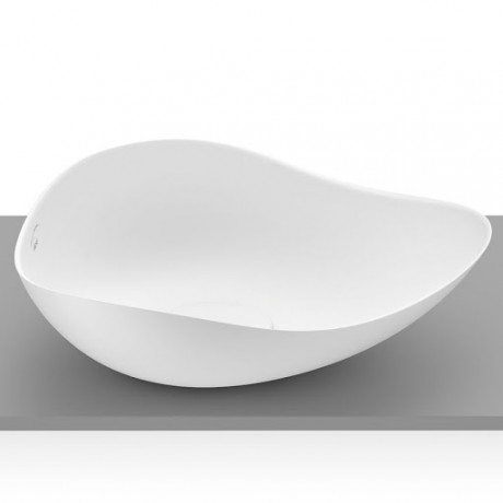 RUY OHTAKE White Matt  540 x 375 x 185 mm Умивалник върху плот Бял Мат