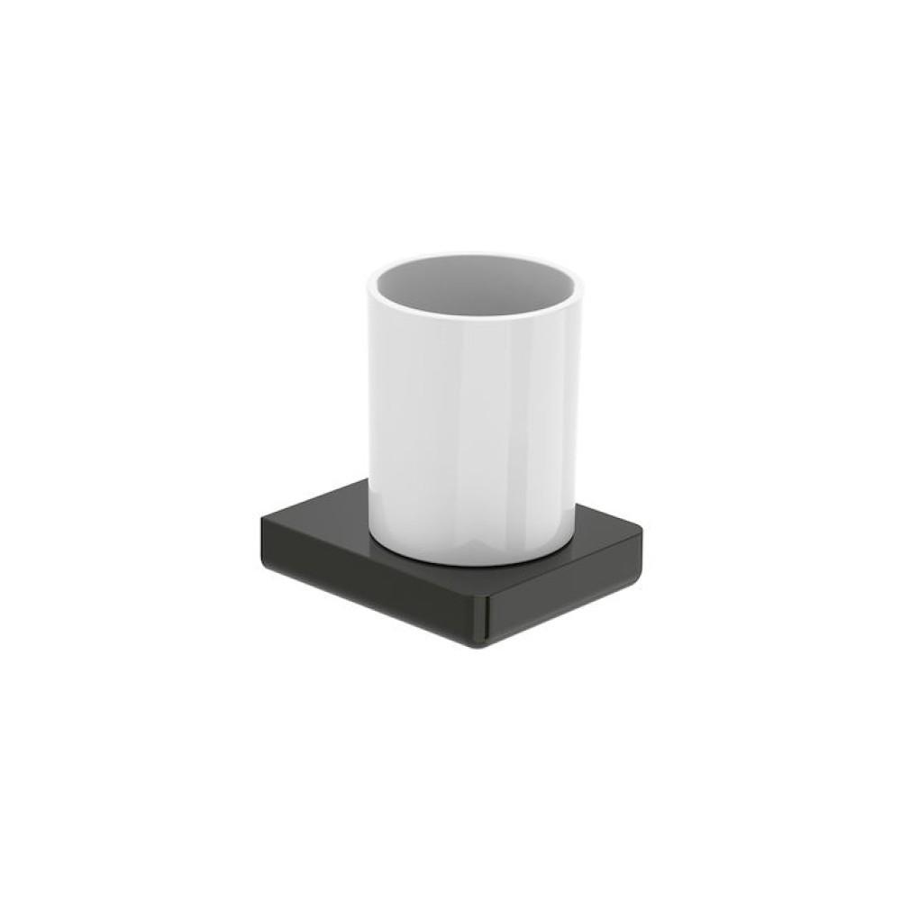 TEMPO Чаша за стена Titanium Black