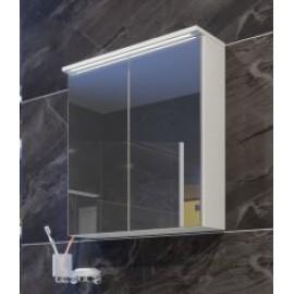 Мебел за баня с LED осветление и стъклени врати EL 55