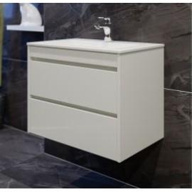 Мебел за баня с две чекмеджета и умивалник EM 65