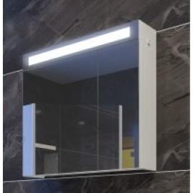 Мебел за баня с две врати и LED осветление EM 65