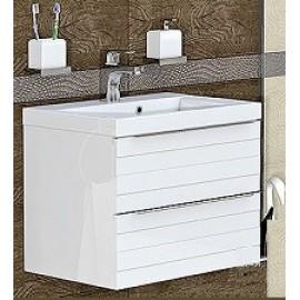 Мебел за баня с две чекмеджета и умивалник TO 60