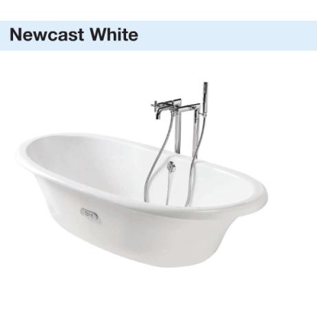 NEWCAST чугунена  вана 170 / 85 бяла