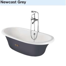 NEWCAST чугунена  вана 170 / 85 сива