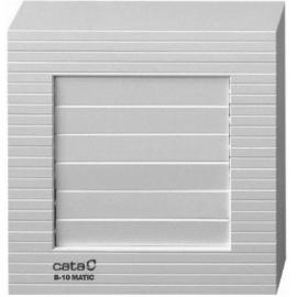 Вентилатор за баня с клапа, бял B-10 MATIC Ф 100