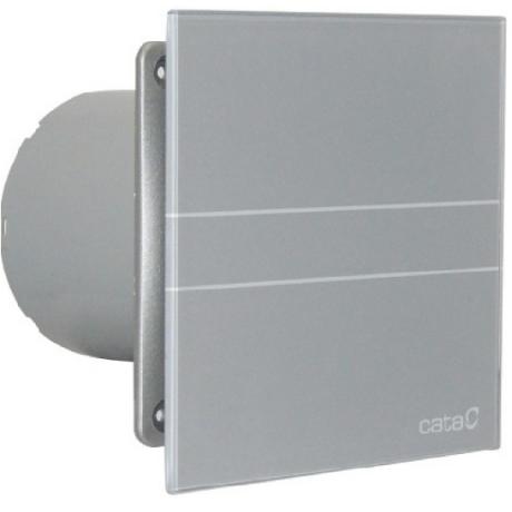 Вентилатор за баня E-100 G, сиво стъкло ф100