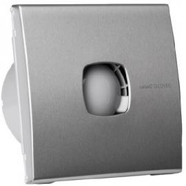 Вентилатор за баня с клапа, SILENTIS INOX Ф 120