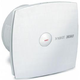 Вентилатор с автоматична клапа, бял X-MART MATIC Ф 150