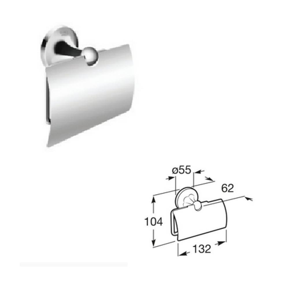CLASSICA Поставка за тоалетна хартия с капак