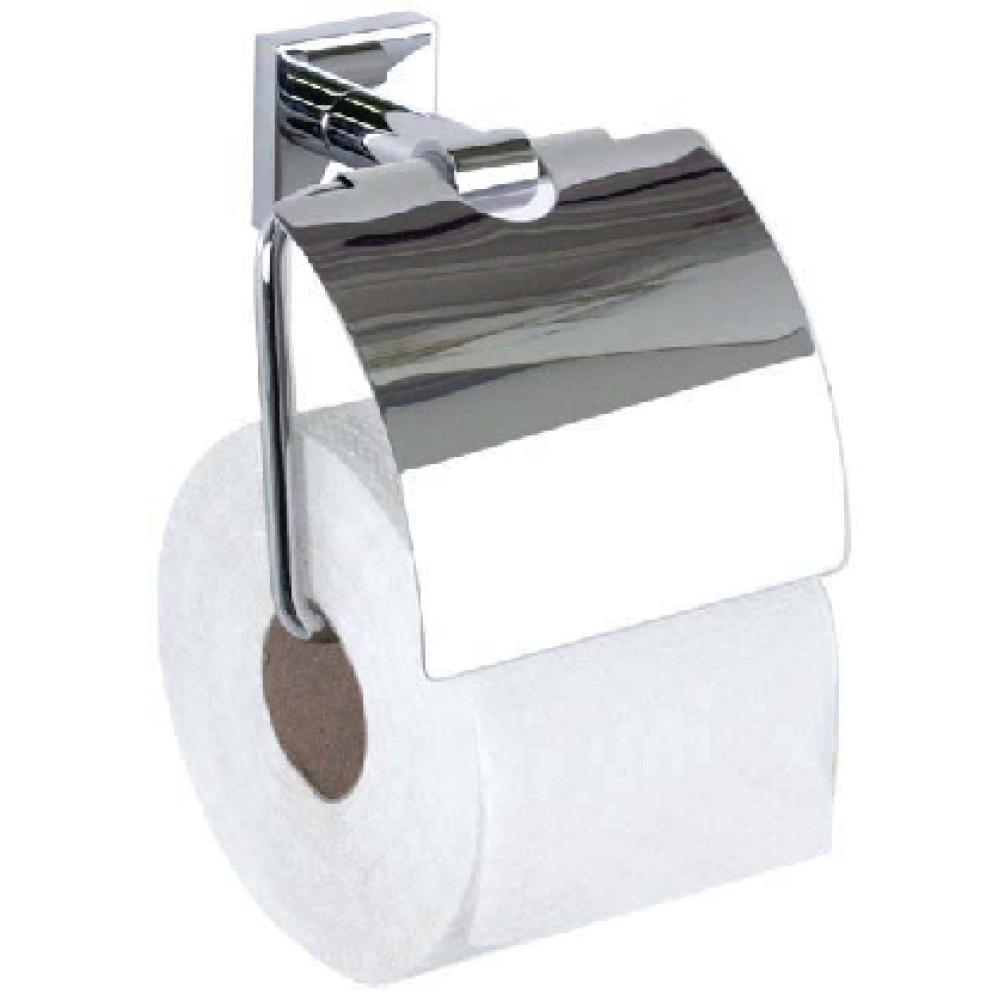 LAHTI стенна поставка за тоалетна хартия с капак.