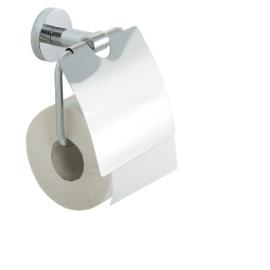 OSLO стенна поставка за тоалетна хартия с капак