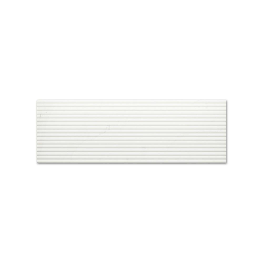 CARRARA Suite Lines Blanco 30x90 калибровани плочи за баня