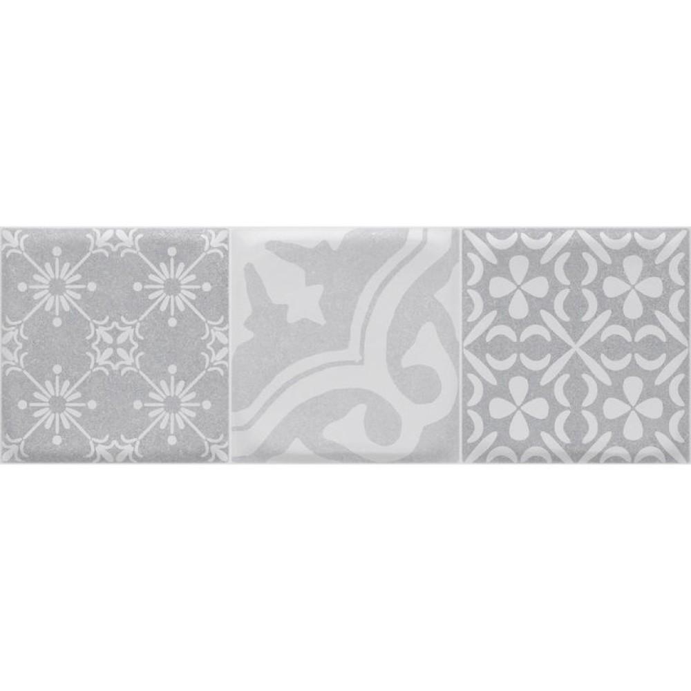 WEEKEND Base Deko Gray 21,4x61 см декоративни фаянсови плочки