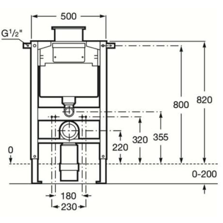DUPLO WC ниска структура