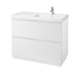 ALTER 100 / 46 порцеланов умивалник десен за стенен монтаж или на плот
